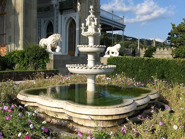 Алупка, Воронцовский дворец
